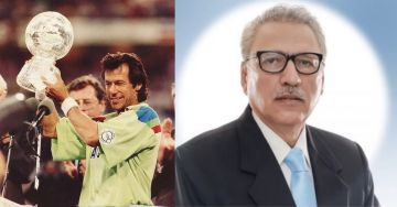The President of Pakistan, Dr. Arif Alvi, is the second ever Dentist who has become a President, while the Prime Minister Imran Khan is the first Cricketer of the world to become a PM
