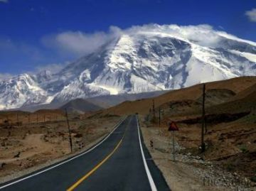 World's highest paved road, the eighth wonder of the world (the China-Pakistan friendship highway or the Karakoram Highway) is in Pakistan!