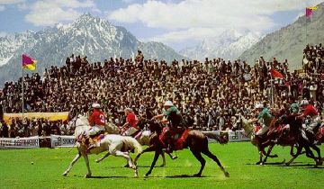 The highest polo ground in the world is in Shandur, Pakistan