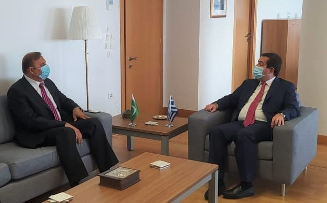 Meeting of Ambassador with Minister for Migration