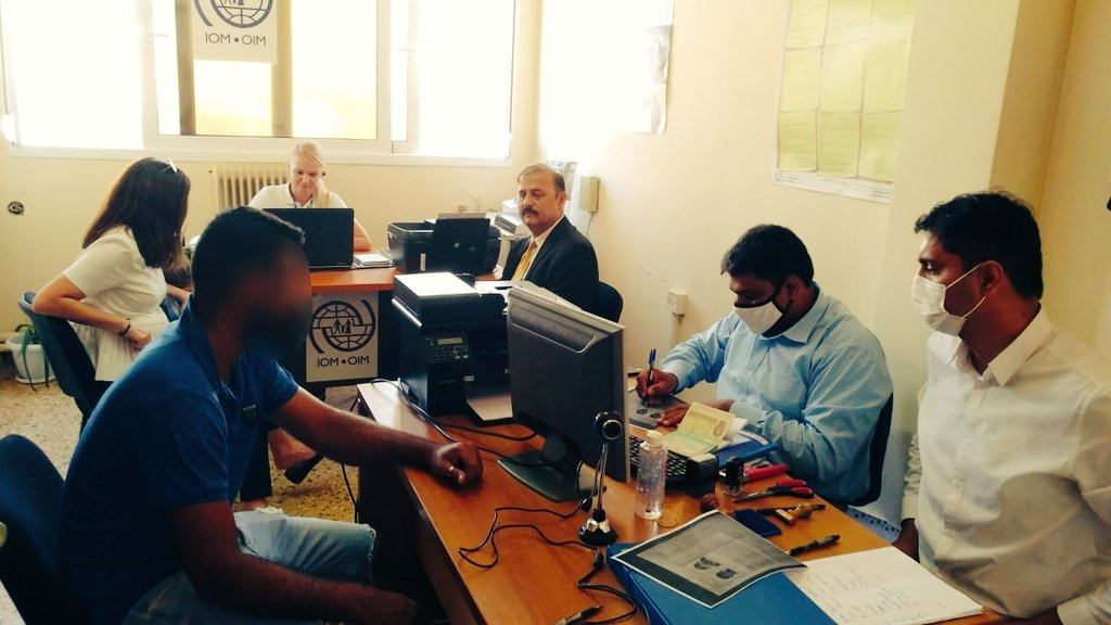 A team of the Embassy of Pakistan, Athens, led by Ambassador of Pakistan, set-up a two-day consular camp in Crete